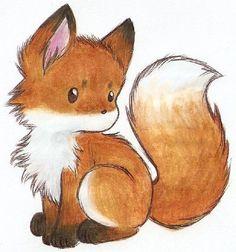 little fox by Liedeke.deviantart.com on @deviantART