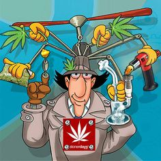 Go-Go Gadget - Weed - Oh man you know you wish you had those gadgets...