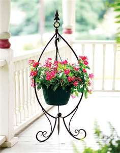 outdoor hanging plant stand for the home pinterest trees plant stands and hanging plants. Black Bedroom Furniture Sets. Home Design Ideas