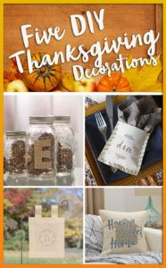 Five DIY Thanksgivin
