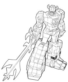 Free Voltron Legendary Defender Coloring Page | Free Printables ...