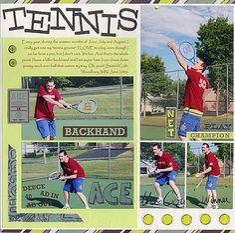 Tennis - Scrapbook.com