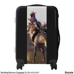 Bucking Bronco Luggage