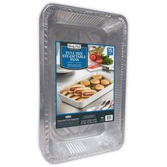 Daily Chef Disposable 50 ct Full Size Aluminum Steam Table Roasting Pans #DAILYCHEF