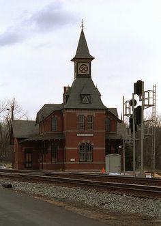 Point of Rocks Railroad Station, Maryland