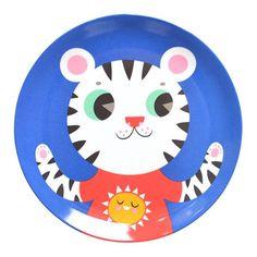Petit Monkey Melamine Plates