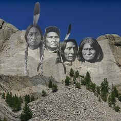 American Indians @ Mount Rushmore | replace