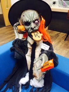 Arkwright's Halloween mascot; Joe.