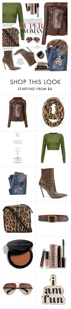"""""""***"""" by len-chica ❤ liked on Polyvore featuring Rick Owens Lilies, Chico's, StyleNanda, Opening Ceremony, Silver Jeans Co., Balenciaga, Dolce&Gabbana, Frame, Chanel and Bobbi Brown Cosmetics"""