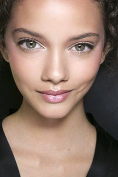Beautiful and fresh faced!