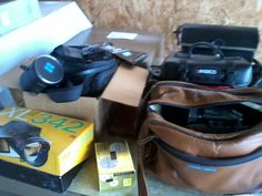 Camera and Camcorders in Cates' Garage Sale in Altamont , IL for . For sale: XL 342 Kodak Movie Camera with case. Panasonic Palmcorder VHS with Case. JVC VHS Camcorder with case. These are obsolete but in very good condition. 40.00 or Make offer. Can be seen in Altamont.