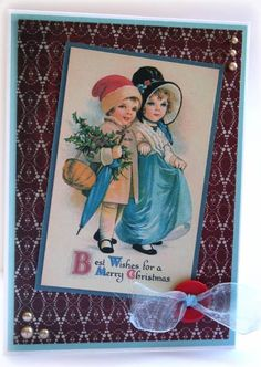 Vintage Christmas Children by thistlecat - Cards and Paper Crafts at Splitcoaststampers