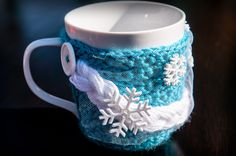 Disney Frozen Queen Elsa Inspired Mug Coaster Cozy Wrap Hug Coffee Tea Cup Princess by WalkingHorseCrafts on Etsy https://www.etsy.com/listing/201590051/disney-frozen-queen-elsa-inspired-mug