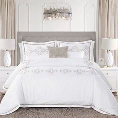 You'll love the Trisia 5 Piece Comforter Set at Wayfair - Great Deals on all Bed & Bath  products with Free Shipping on most stuff, even the big stuff.