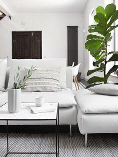 Elegant DIY Zopfkissen Im Wohnzimmer   Bildschoenesdesign