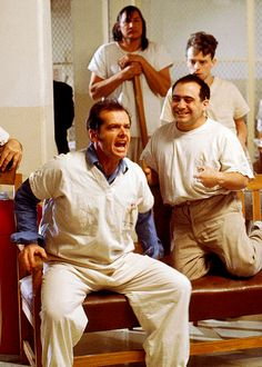 "Jack Nicholson, ""One Flew Over the Cuckoo's Nest""."