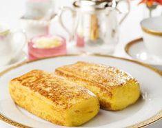 大絶賛の声が飛び交う「ホテルオークラ特製フレンチトースト」。丸一日かけて作られるフレンチトーストは表面はサクッ!中はふわふわとろとろ~プリンのようなケーキのよう...