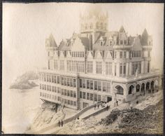 Once upon a time, The San Francisco Cliff House 1863