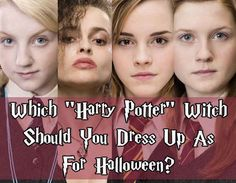 """Which """"Harry Potter"""" Witch Should You Dress Up As For Halloween <--- I got Tonks! k"""