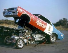 Hayden Profitt had the most successful AMC funny car of all time with the Grant SST Ramber. The red, white, and blue machine even held the NHRA National Record for a short while.