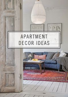 Need apartment décor inspiration? Check out these super cute ideas to make your place chic this school year.