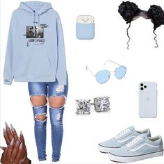 Swag Outfits For Girls, Boujee Outfits, Cute Swag Outfits, Teenage Girl Outfits, Teen Fashion Outfits, Teenager Outfits, Girly Outfits, Jeans, Teen Fashion