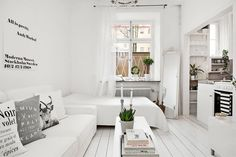 Scandinavian Design: Apartment in Högalid