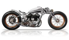 Chicara Nagata makes some of the most unique motorcycles you'll ever see.