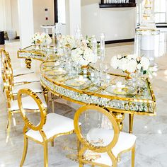 Banquet Hall Wedding Event Golden Metal Base Glass Top Wedding Table - Buy Wedding Table,Gold Wedding Table,Glass Wedding Table Product on Alibaba.com Stainless Steel Table, Wedding Table, Gold Wedding, T Home, Glass Table, House Party, Banquet, Wedding Events, Table Settings