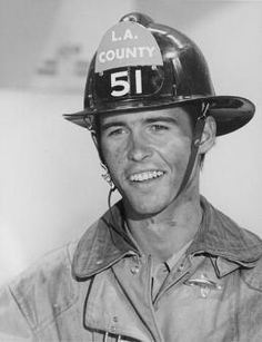 Randolph Mantooth as Johnny Gage, Emergency! Loved this show as a kid.  Me too!he was so handsome...