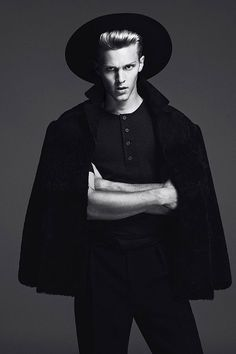 """homme–models: """" Clark Bockelman for L'Officiel Hommes Germany ph. by Anthony Meyer and styled by Sara Bascunan Alonso """""""