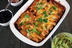 chicken-enchiladas-with-red-sauce