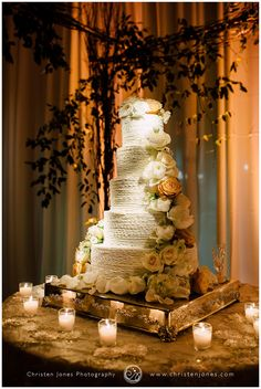 Five Tier Wedding Cake