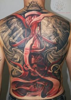 Hourglass Tattoo Photos, Designs, and Explanations