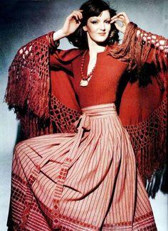 Fashion for L'officiel de la mode, 1975.