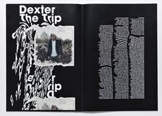 Trigger, a conceptual magazine that explores psychedelia