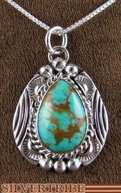 Turquoise Pendant - Navajo