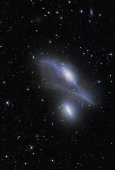 The Eyes NGC 4435 and NGC 4438