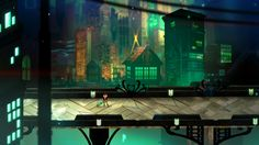 Transistor gameplay screenshot