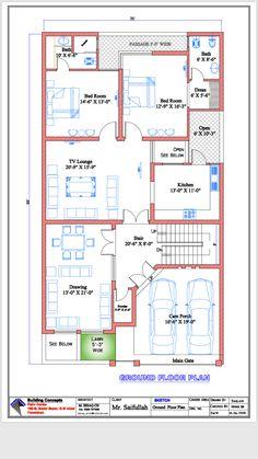 Best 12 Sarai Perez's media content and analytics – SkillOfKing. 10 Marla House Plan, 2bhk House Plan, Free House Plans, Three Bedroom House Plan, Simple House Plans, House Layout Plans, Duplex House Plans, Family House Plans, Model House Plan