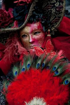 Carnevale di Venezia: Wander Venice's waterways and alleyways concealed behind a Bauta, Moretta, Volto, or other classic masks during a ten-day pre-Lenten celebration.