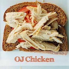 Chicken with Orange Sauce: Crock Pot Recipe