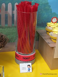 Lucy's Licorice, - The Peanuts Movie Party by PartyPinching.com