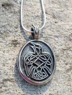 Celtic Raven Pendant http://www.thesacredfeminine.com/celtic.html