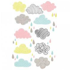 Sticker da muro Nuvole by Decoramo