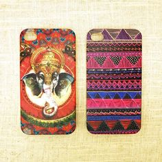 us$8.99 Two iPhone 4/4s cases with vibrant colors and beautiful tribal designs.     This slim fit snap-on case for Apple iPhone 4/4s keeps your iPhone safe and protected in style. Slim fit snap-on case allows easy access to all buttons, controls and ports. Maintains a slim profile, covering the back and ...