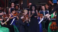 God Bless the Child - Babalwa Tshula, SA National Youth Orchestra (LIVE)