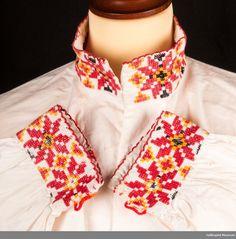 Bilderesultat for skjorte hallingbunad