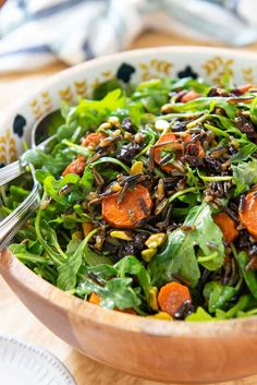 Wild Rice Salad - He