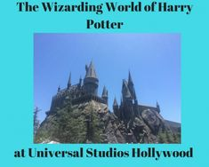 The Wizarding World of Harry Potter at Universal Studios Hollywood is a Harry Potter fan's dream come true. Step inside with me!